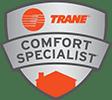 logo trane comfort specialist